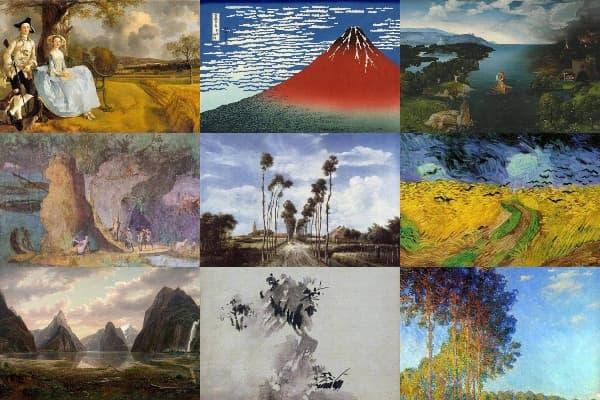 50 Landscape Paintings